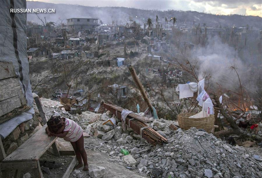 "Ураган ""Мэттью"" унес жизни 372 человек на Гаити"