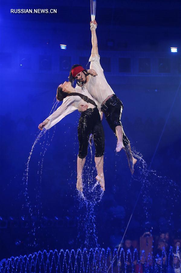 """""""Вода и огонь"""" -- новое представление в Национальном цирке Украины"""