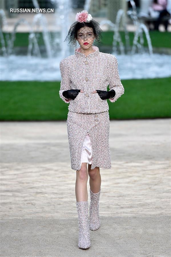 показ мод в париже весна
